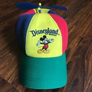 Vintage Disney Mickey Mouse Propeller Hat - Youth
